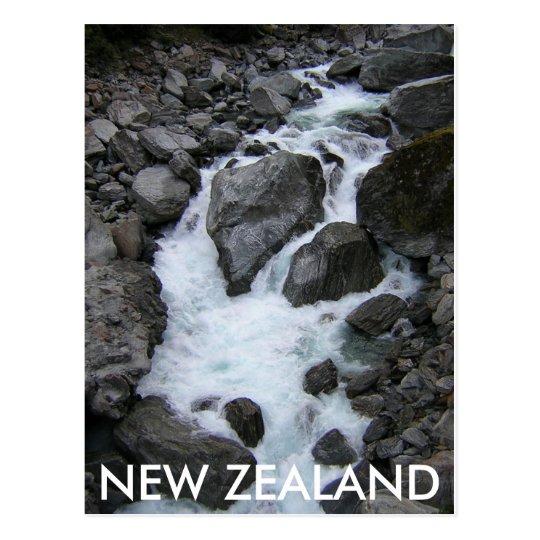 NEW ZEALAND RIVER POSTCARD