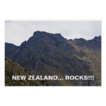 New Zealand Rocks-Poster Poster