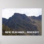 New Zealand Rocks-Poster Poster