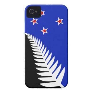 New Zealand Silver Fern Flag iPhone 4 Covers