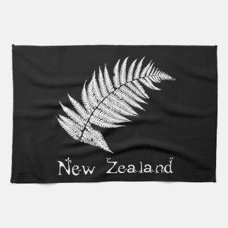 New Zealand Silver Fern Kitchen Towel
