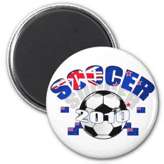 New Zealand Soccer Celebration Refrigerator Magnets
