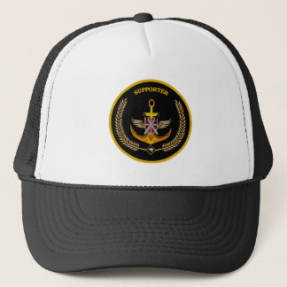 NEW ZEALAND SUPPORT YOUR DEFENCE FORCE TRUCKER HAT