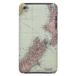 New Zealand, Tasmania, Fiji Case-Mate iPod Touch Case