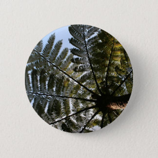 New Zealand Tree Fern 2 Inch Round Button