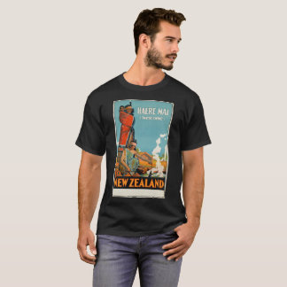 New ZeaLand vintage Old School t-shirt Haere Mai