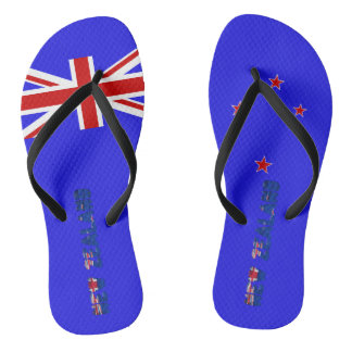 New Zealander flag Flip Flops