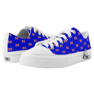 New Zealander flag Low-Top Sneakers