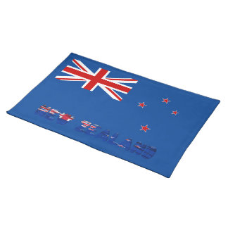 New Zealander flag Placemat