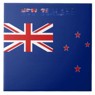 New Zealander flag Tile
