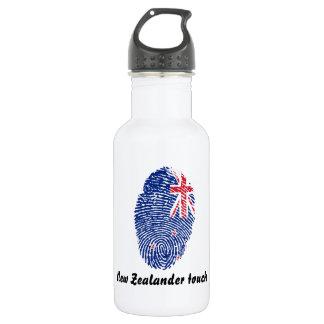 New Zealander touch fingerprint flag 532 Ml Water Bottle