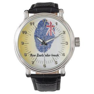 New Zealander touch fingerprint flag Watch