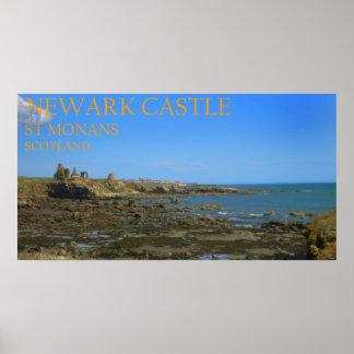 Newark Castle,St Monans, Scotland Poster