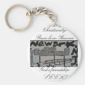 Newark, N.J keychain/Christian witnessing keychain