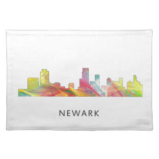 NEWARK, NEW JERSEY SKYLINE WB1 - PLACE MATS