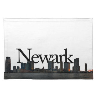 Newark New Jersey Skyline with Newark in the Sky Placemats