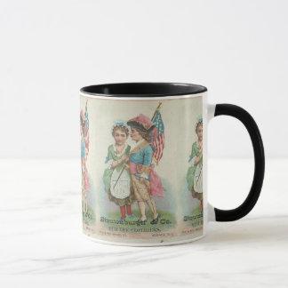 Newark Vintage 19th Century Patriotic Mug