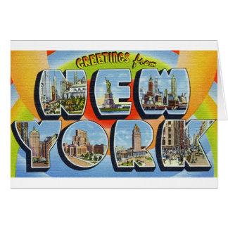 newartsweb - Greetings from New York.  Card