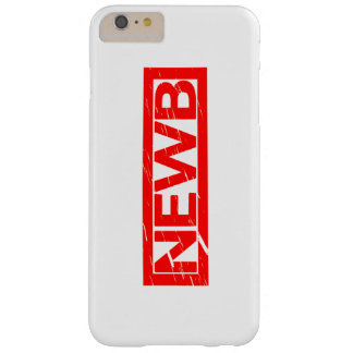 Newb Stamp Barely There iPhone 6 Plus Case
