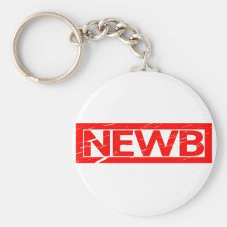 Newb Stamp Keychain