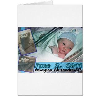 newbaby greeting card