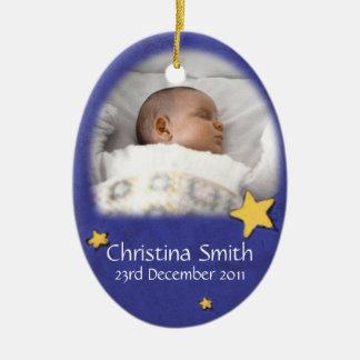 Newborn Angel Christmas ornament own photo