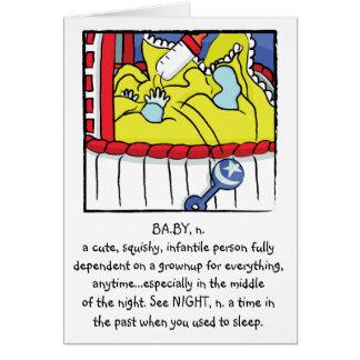 Newborn Boy Greeting Card