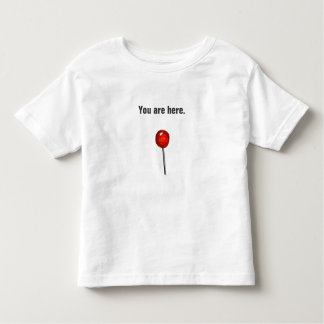 Newborn Funny You are here T-shirt Baby shower