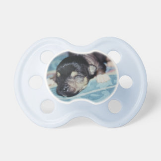 Newborn Hairless Chinese Crested Puppy Dog Baby Pacifier