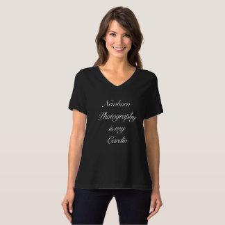 Newborn Photography is my Cardio T-Shirt