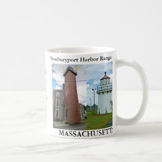 Newburyport Harbor Range Lights, Massachusetts Mug