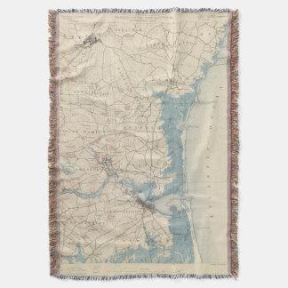 Newburyport, Massachusetts Throw Blanket