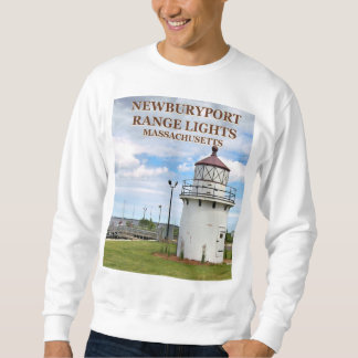 Newburyport Range Lights, MA Sweatshirt
