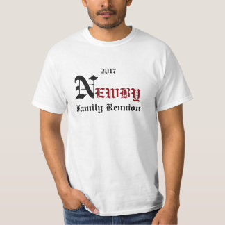NEWBY 2017 FAMILY REUNION T-Shirt