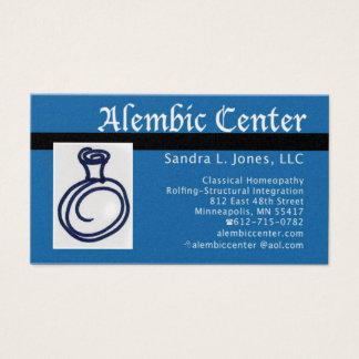 NewCard/Alembic text Business Card