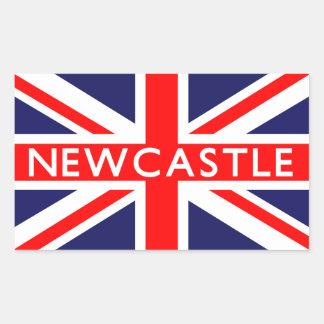 Newcastle : British Flag Sticker