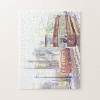 Newcastle H class tram Jigsaw Puzzle
