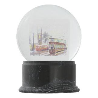 Newcastle H class tram snow globe