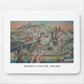 Newcastle upon Tyne, England Mouse Pad