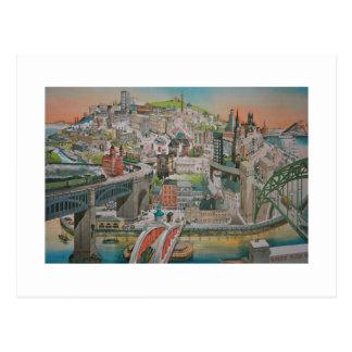 Newcastle upon Tyne Post Card