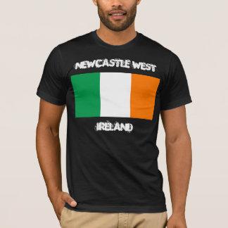 Newcastle West, Ireland with Irish flag T-Shirt