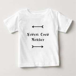 Newest Crew Member - Adoption Foster Care Baby T-Shirt