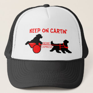 newf express  copy, Keep on Cartin' Trucker Hat