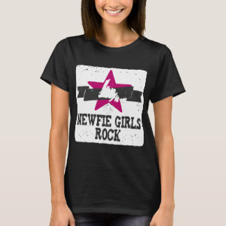 Newfie Girls Rock T-Shirt
