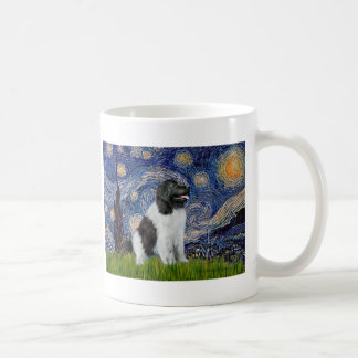 Newfie Landseer - Starry Night Coffee Mug