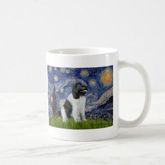Newfie Landseer - Starry Night Coffee Mug
