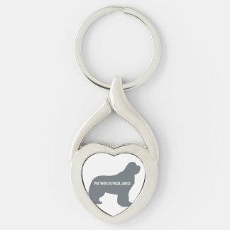 newfie name silo grey keychain