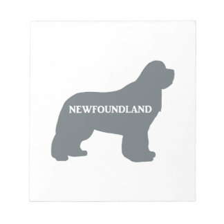 newfie name silo grey notepad