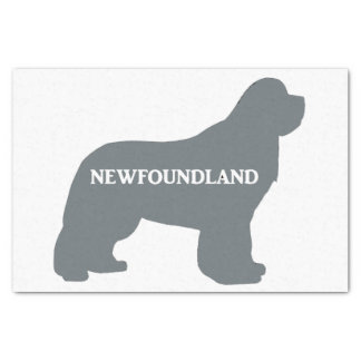 newfie name silo grey tissue paper