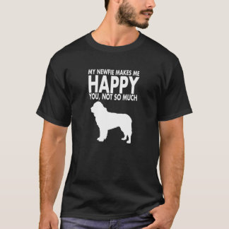 Newfie or Newfoundland Dog Tshirt